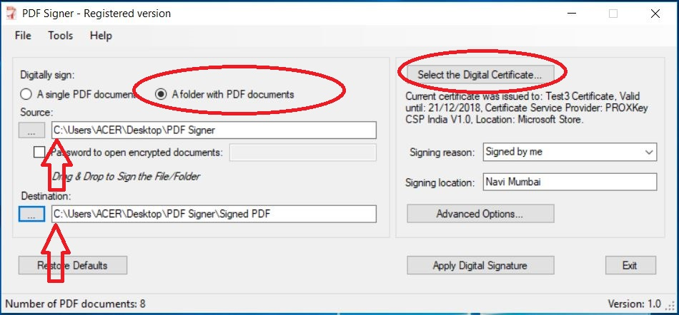 Bulk PDF Signing | Knowledge Base | Knowledge Base