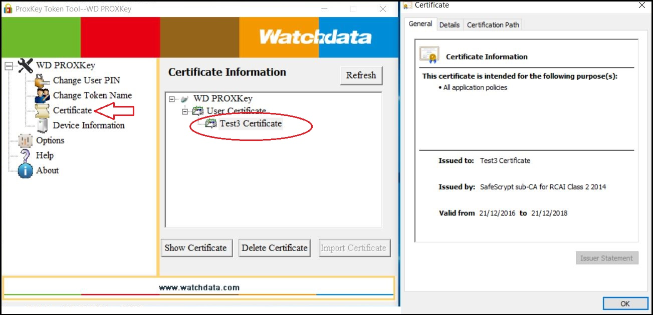 Check Certificate In Token Knowledge Base Knowledge Base